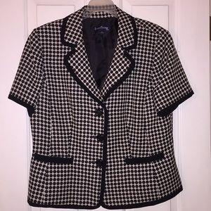 Evan Picone short sleeve blazer Size 16